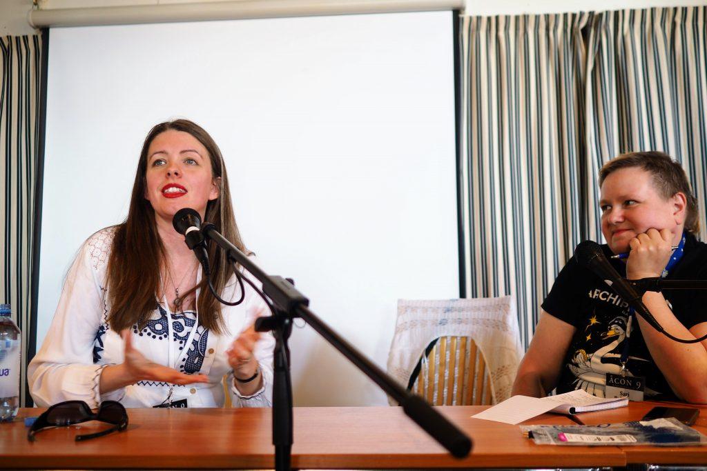 hedersgästintervju Emma Newman och Sari Polvinen